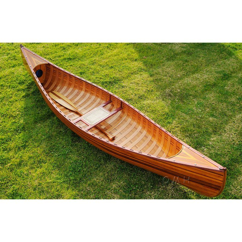 Old Modern Handicraft 10 Ft Canoe With Ribs Curved Bow 288899