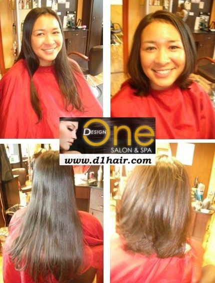 Before And After Locks Of Love Haircut Free Haircut Wigs For Cancer Patients Spa Salon