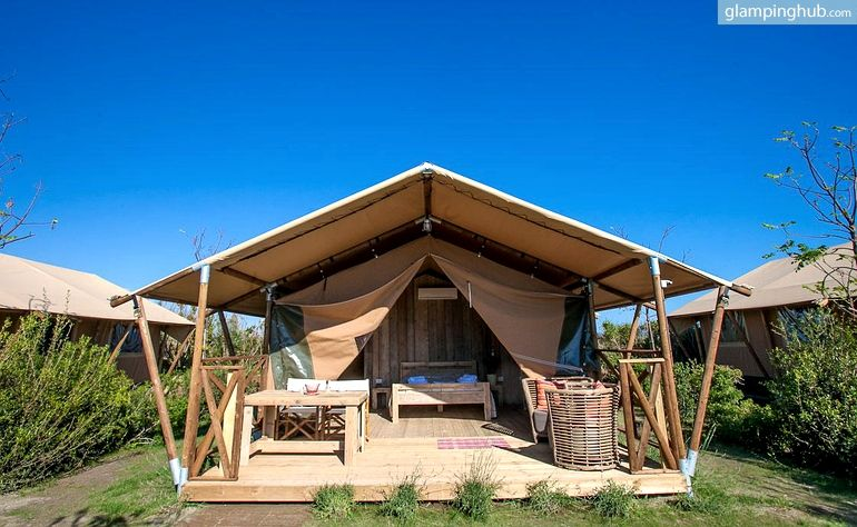 Mediterranean Beach Coast Lodging Tents in Tuscany Italy : walk in tents - memphite.com