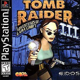 Playstation 1 Tomb Raider Iii Adventures Of Lara Croft Tomb