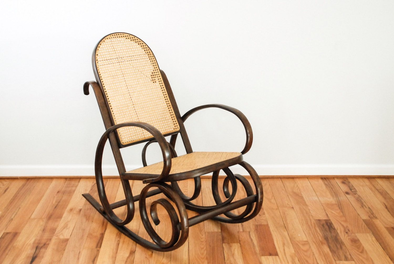 Modern Rocking Chair Caning Repair