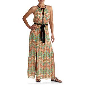 be06dec26c9 Stitch Women s Keyhole Tie Waist Maxi Dress   WALMART Women s Fashion