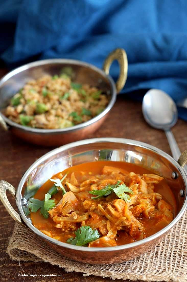Easy Jackfruit Curry