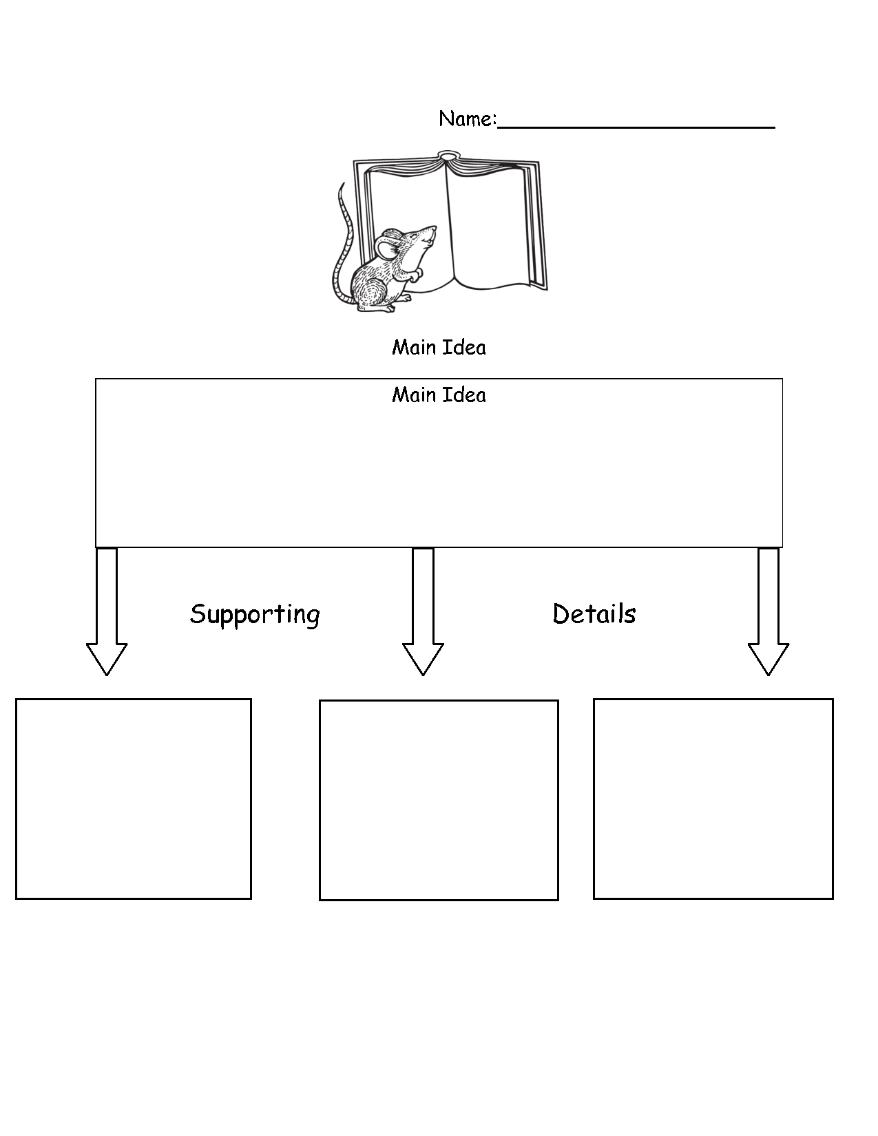 photo about Main Idea Graphic Organizer Printable referred to as Image Organizers Printable Primary Strategy image organizer