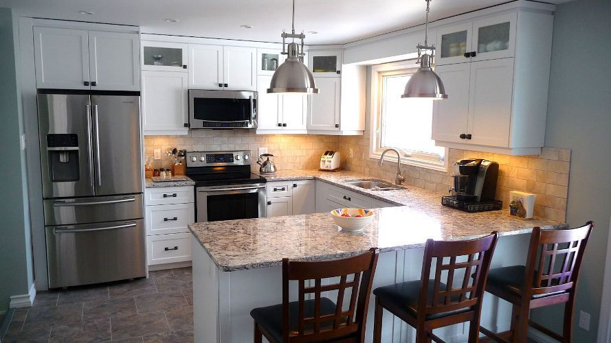 Beautiful modern kitchen by Sheldon's Home and Renovation ...