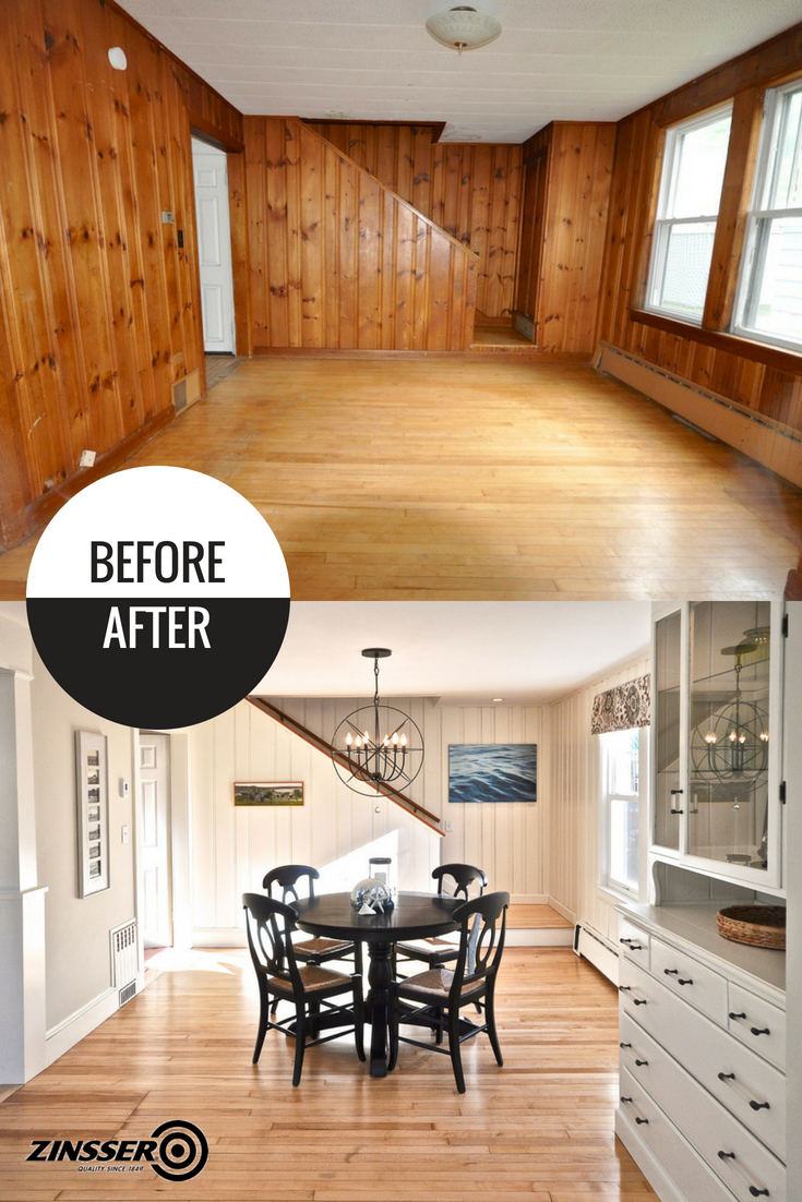 Wood Paneled Room Design: Say Goodbye To 1970's Knotty Pine Wood Paneling And Give