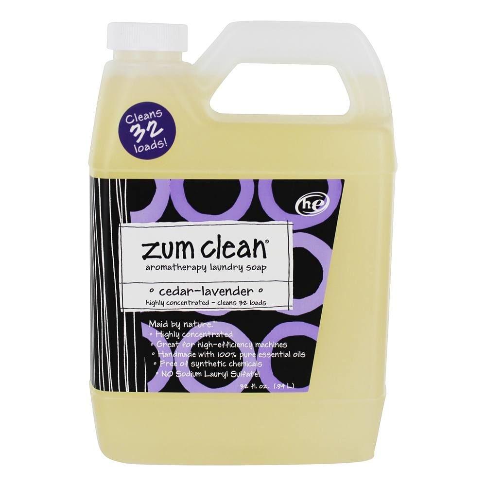 Indigo Wild Zum Clean Aromatherapy Laundry Soap 32 Loads Cedar