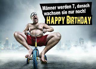 Geburtstagssprüche für Männer | Birthday wishes funny ...