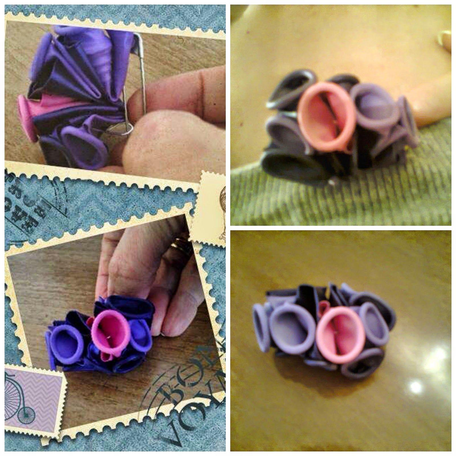 Il Blog Di Pink Lady: ** Gioielli con materiali di riciclo - Non solo bracciali **