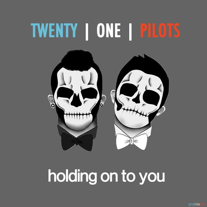 Twenty One Pilots – Holding On to You (single cover art)