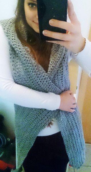 Simple Pea Vest – Knitting Soul Warmer Free –  – Stricken