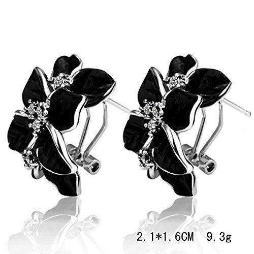 Joyería de moda para mujer de moda de estilo europeo de cristal clásico pernos prisioneros del pendiente
