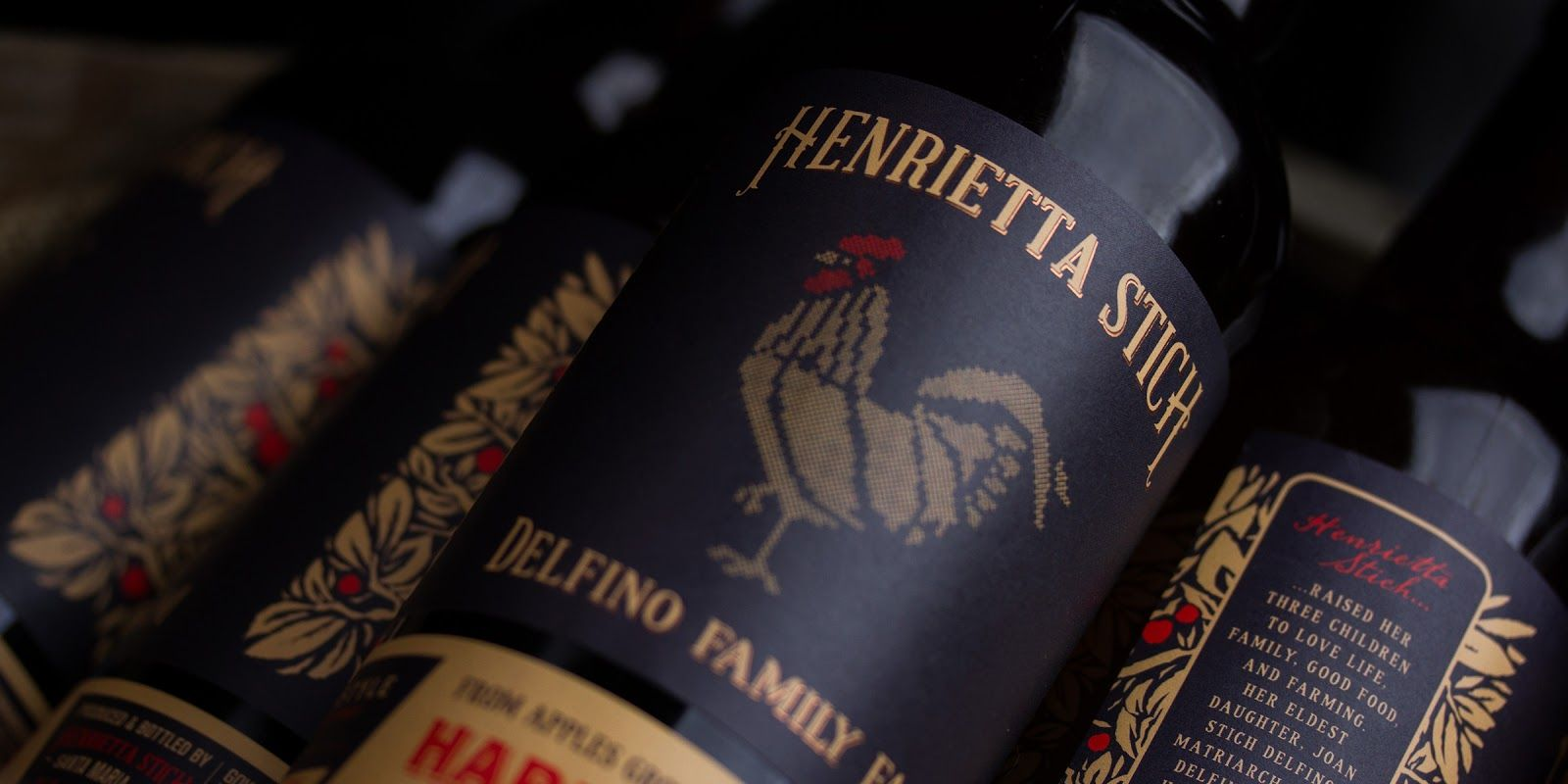 Henrietta Stitch Hard Cider on Packaging of the World - Creative Package Design Gallery