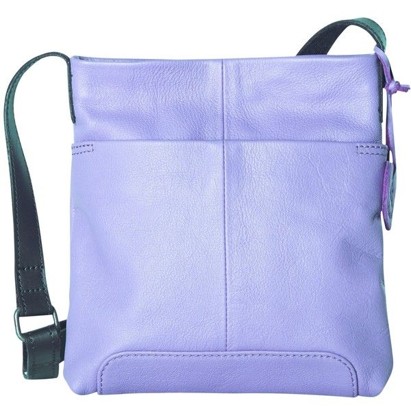 White Stuff Small Issy Cross Body Bag, Heather (380 SEK) ❤ liked ...