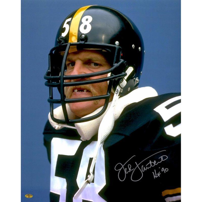 separation shoes 5fa4f 0c86a Jack Lambert Pittsburgh Steelers Fanatics Authentic ...