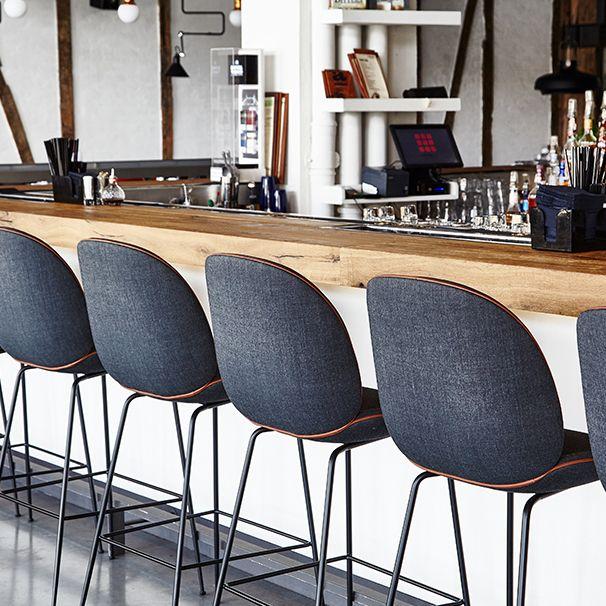 Gubi Beetle Bar Chair Upholstered 515 Kitchen