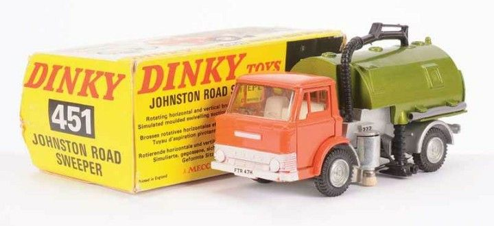 Dinky Toys 451 Ford D Johnston Road Sweeper Autos A Escala