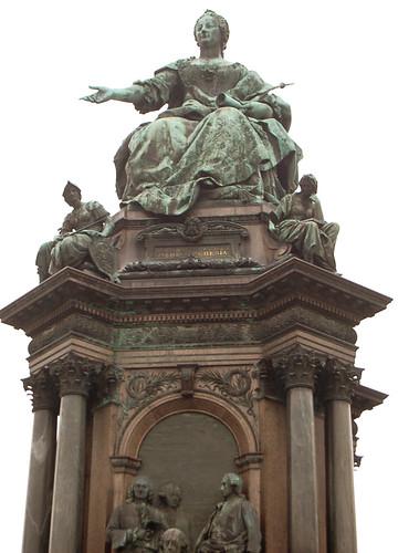 Statue Of Empress Maria Theresa Maria Theresa Statue Vienna