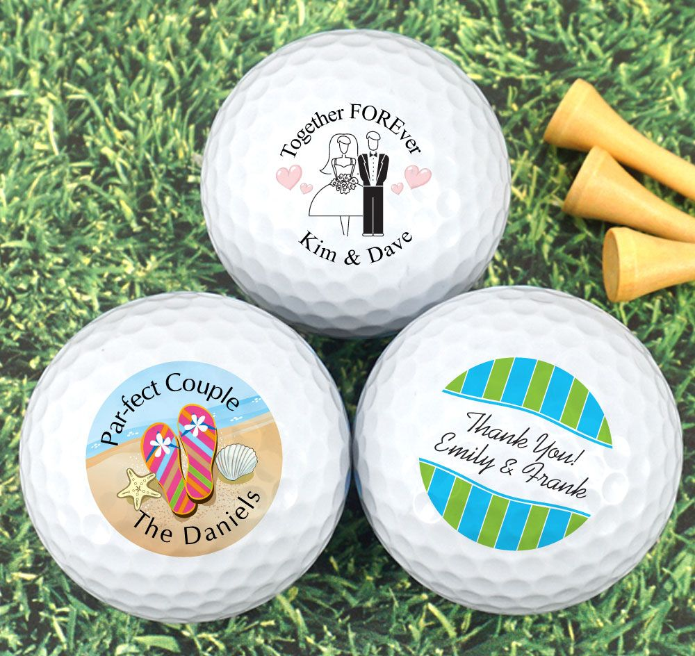 Wedding Golf Ball Favors Are A Fun And Useful Favor Your Guests Will Love