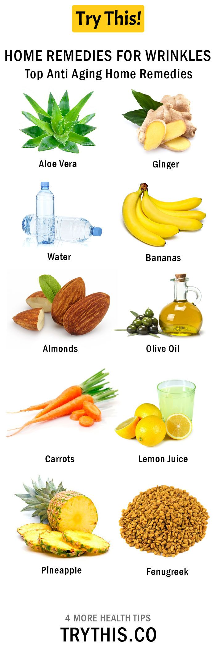 Home Remedies For Wrinkles Home Remedies For Wrinkles Anti