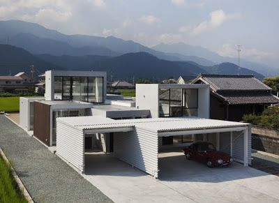 La casa Ishizuchi, un proyecto de Kazuyuki Okumura