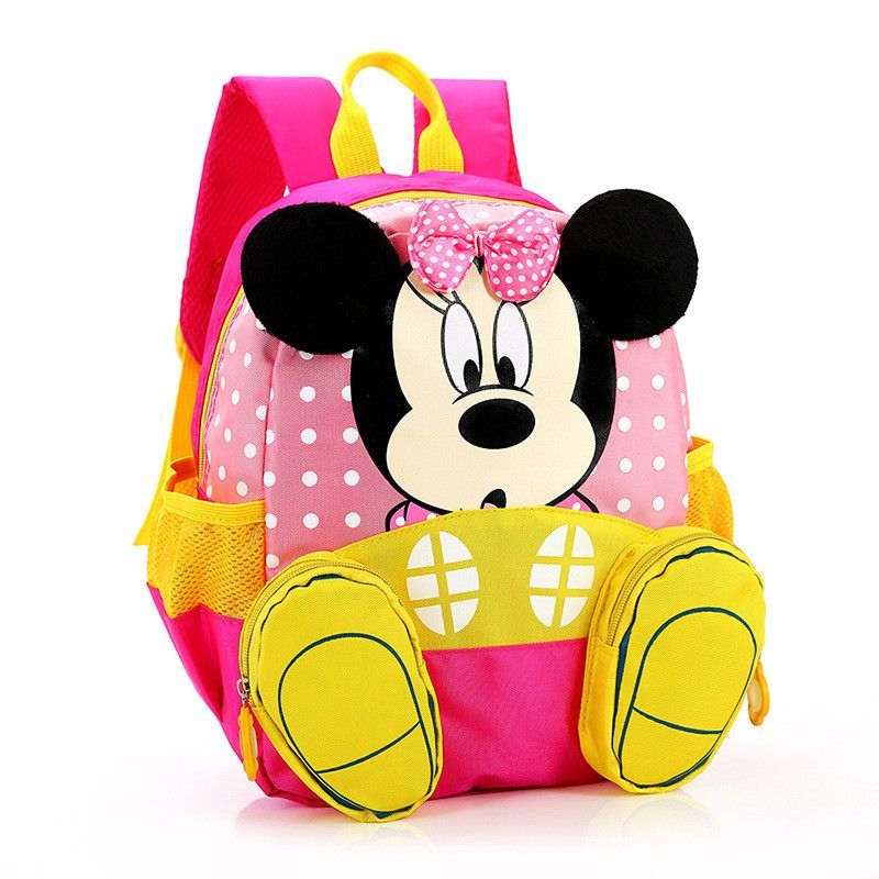 685a7c2fee 2016 Hot Cartoon mickey children backpacks kids kindergarten backpack kid  school bags Satchel for boys and girls free shipping