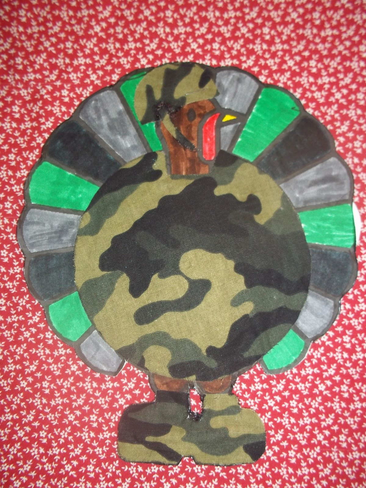 Kinder Garden: Disguise A Turkey Kindergarten Project