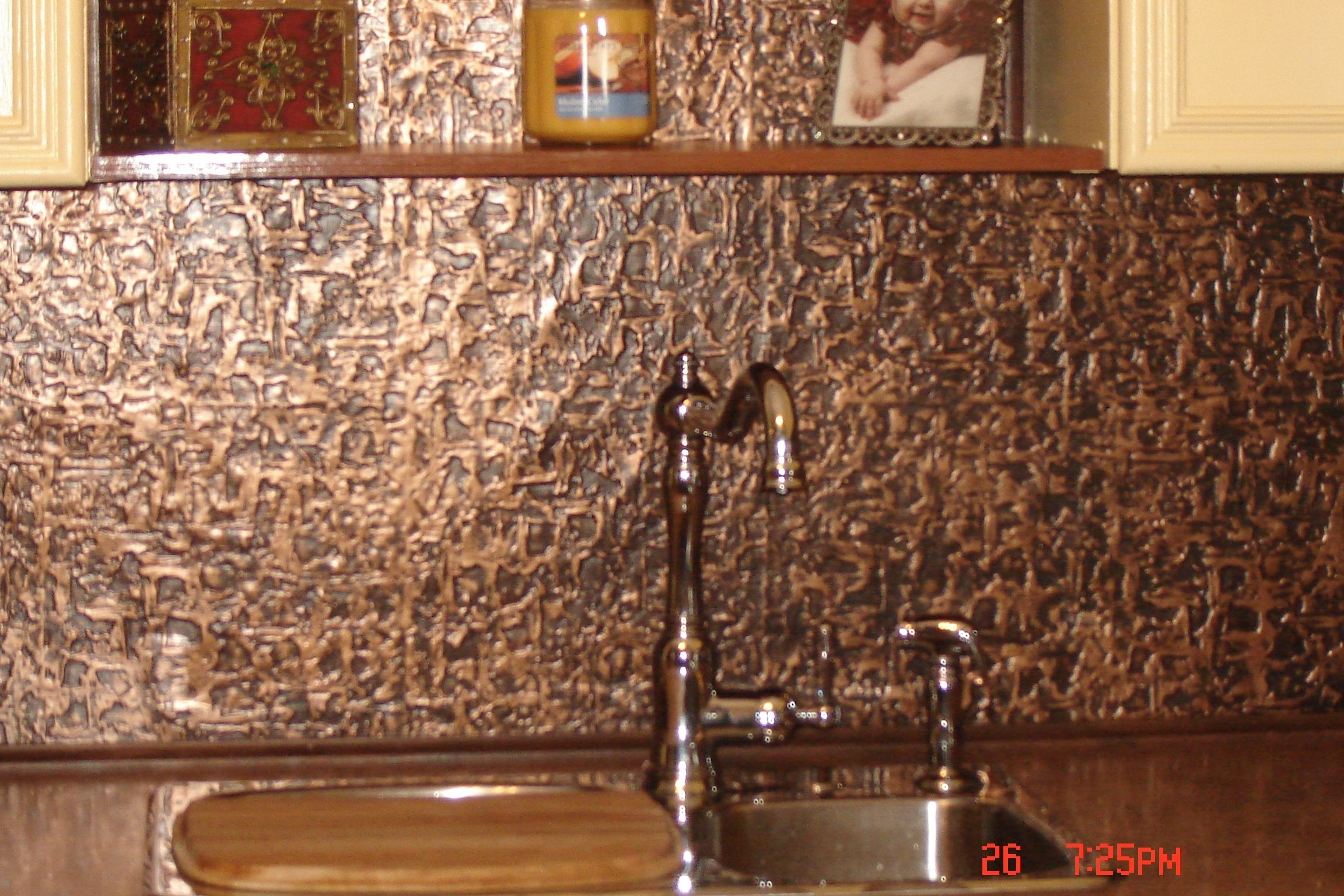 - Copper Backsplash Interior How To Make A Countertop Metal Kitchen
