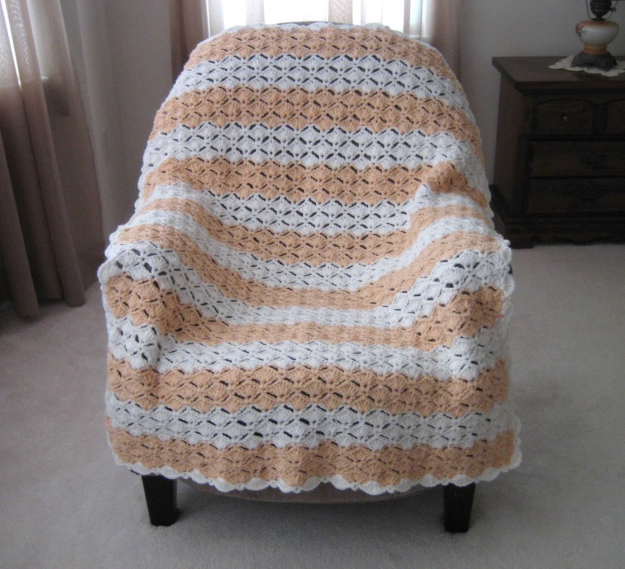 Peaches & Cream Afghan: National Craft Month Project & Giveaway ...