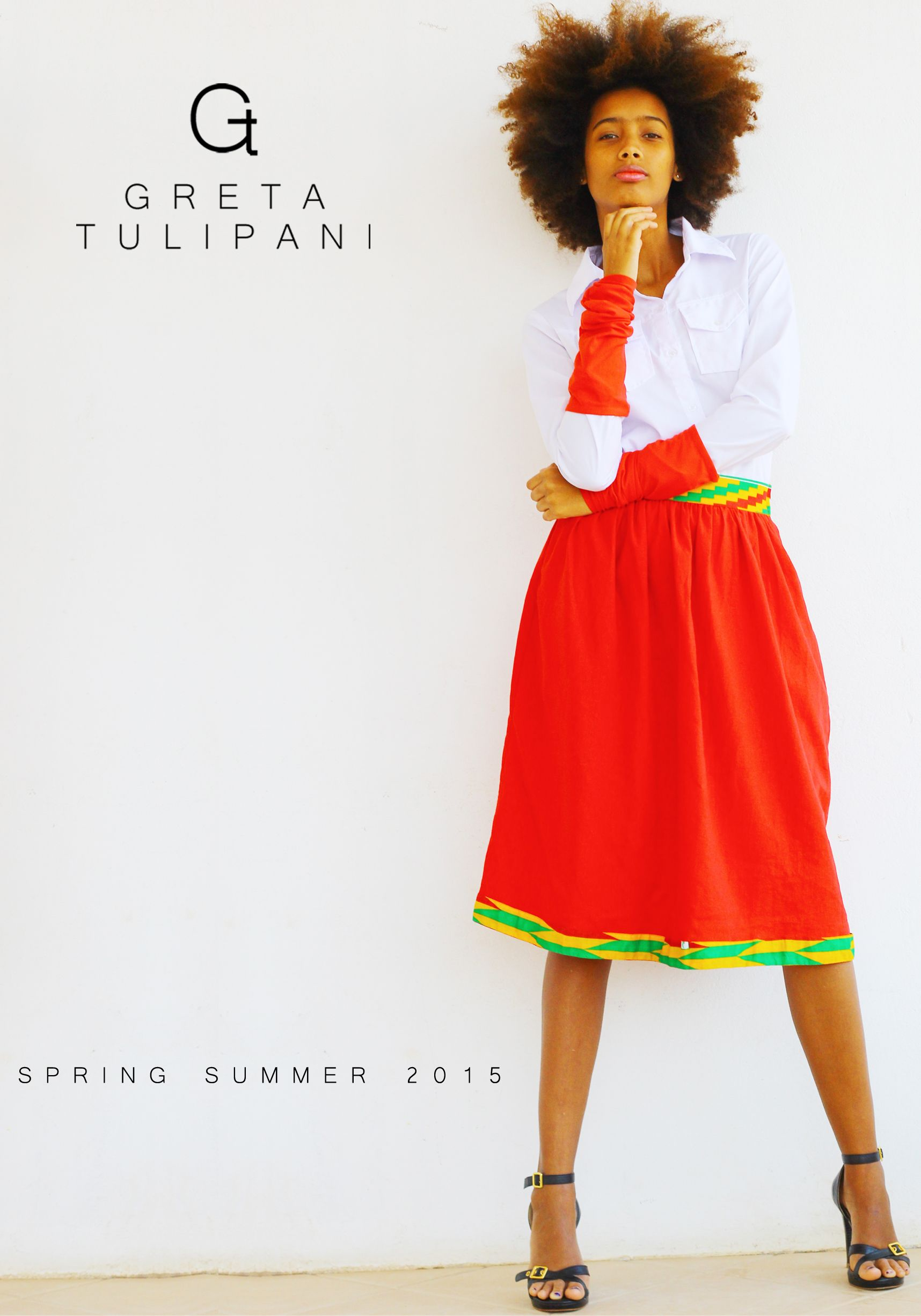 Greta Tulipani NEW COLLECTION S/S 2015