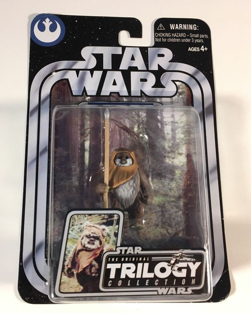 Star Wars Original Trilogy Collection Wicket Otc 17 Rotj Ewok Figure Noc Sealed Hasbro Original Trilogy The Originals Trilogy