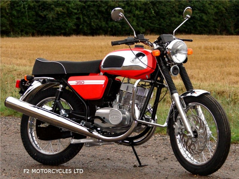 The Very First Jawa 350 Retro To Arrive Motorcycle Model