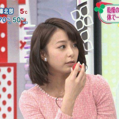 髪のアクセサリーが素敵な宇垣美里さん