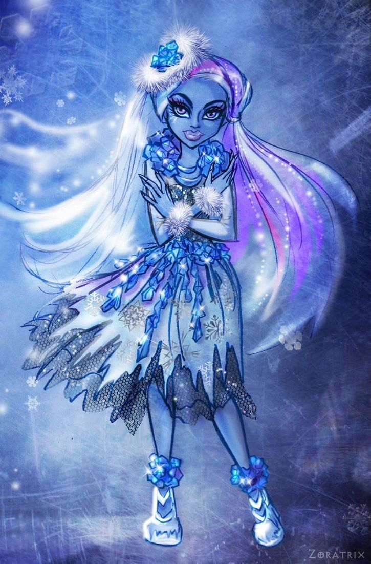 Abbey Bominable.  Monster High. Ghouls Rule.