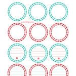 Canning labels free printables