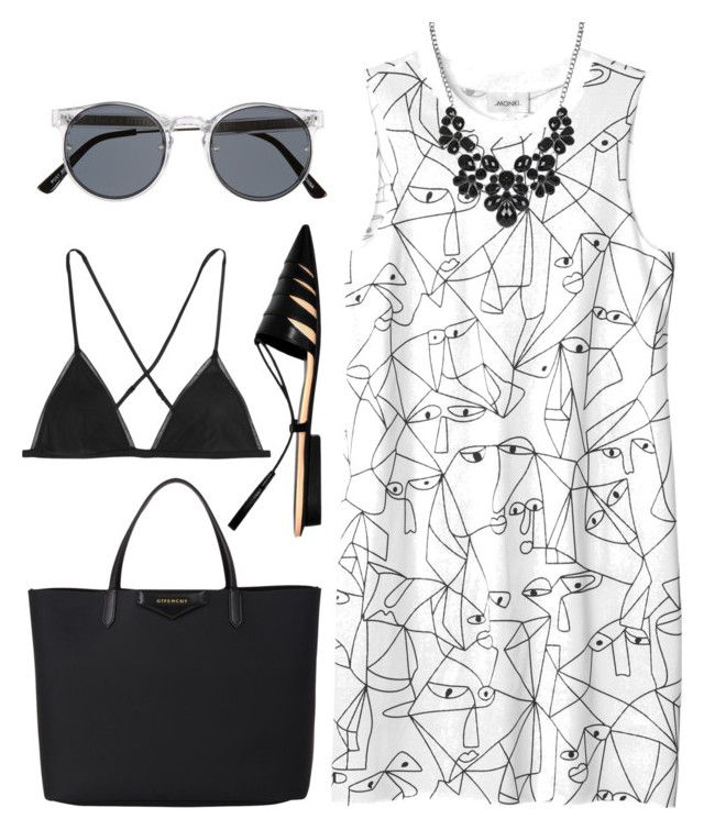 """Без названия #23"" by musya12 ❤ liked on Polyvore featuring Narciso Rodriguez, Monki, Givenchy, Kiki de Montparnasse and Spitfire"