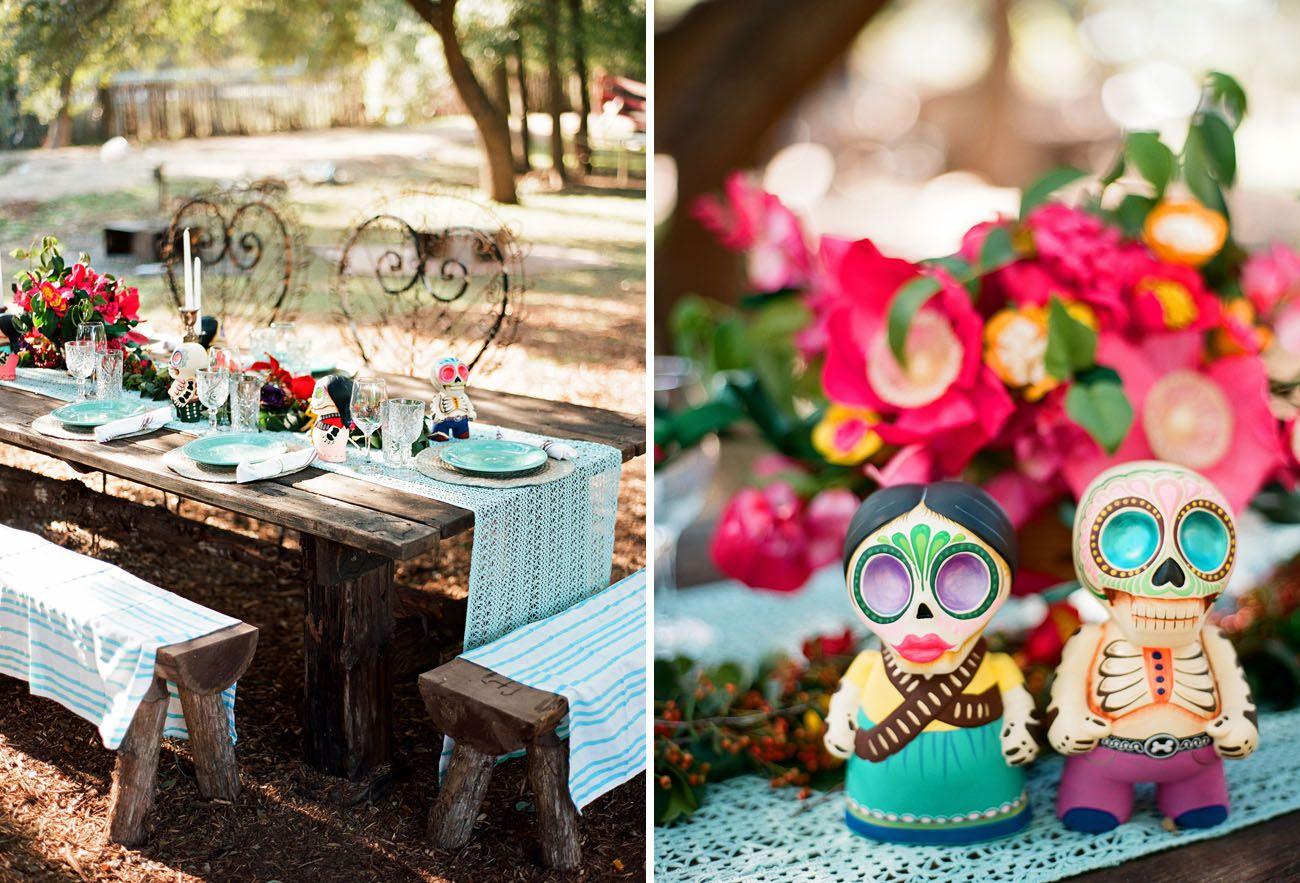 Dia de los Muertos Inspired Wedding: Nayeli + Bradford | HaPPy eVer ...