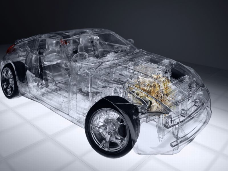 Transparent Cars Leave Nothing To The Imagination Car