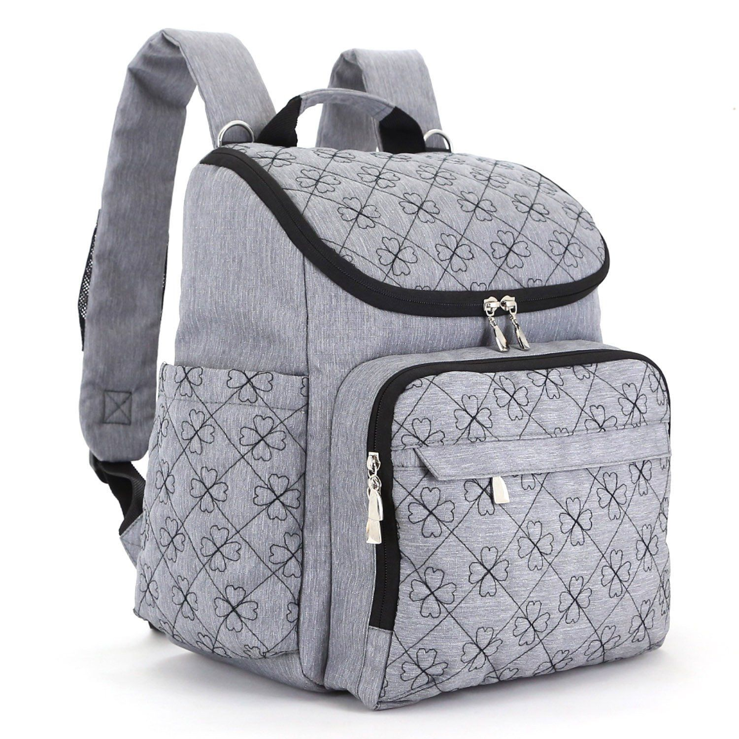 Diaper Bag Backpack With Baby Stroller Straps By HYBLOM