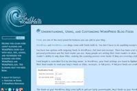 Understanding, Using, and Customizing WordPress Blog Feeds
