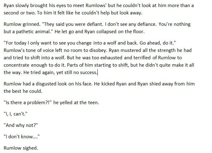 Ryan scene part 5 (this is NOT connected to any of my other stories - rejection letter sample
