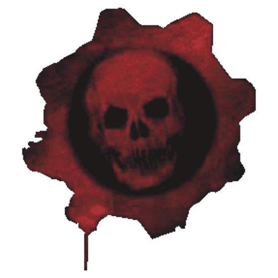 Gears Of War Logo By Trailbrazzer Gears Of War Calcomanias