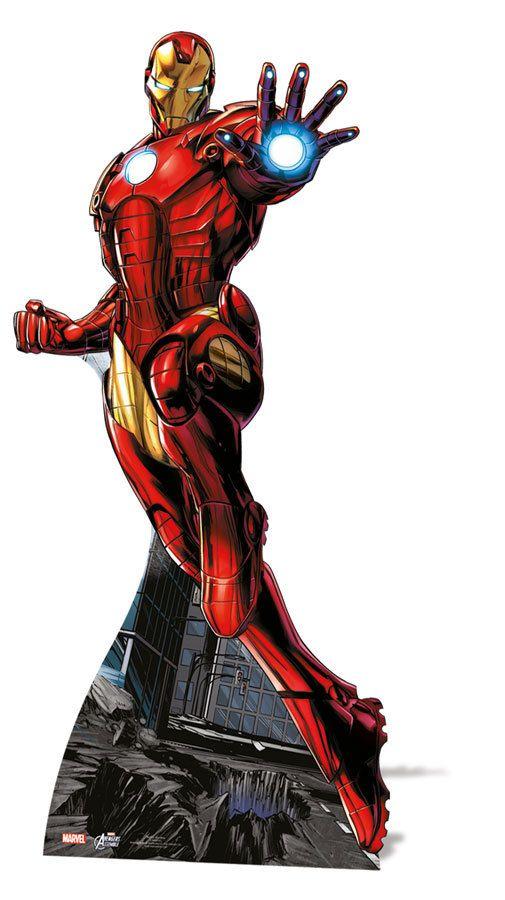 Iron Man Lifesize Cardboard Cutout Standee Standup Marvel The Avengers Super Hero Superhero Iron Man Marvel