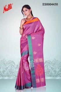 4229297688cb42 Onion Pink Coimbatore Silk Saree Coimbatore