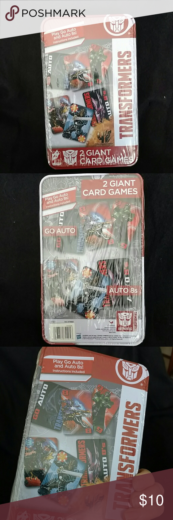 ✨ Price ⤵✨Transformer giant card game NWT Brand new, for those that like transformers❣ Hasbro Other