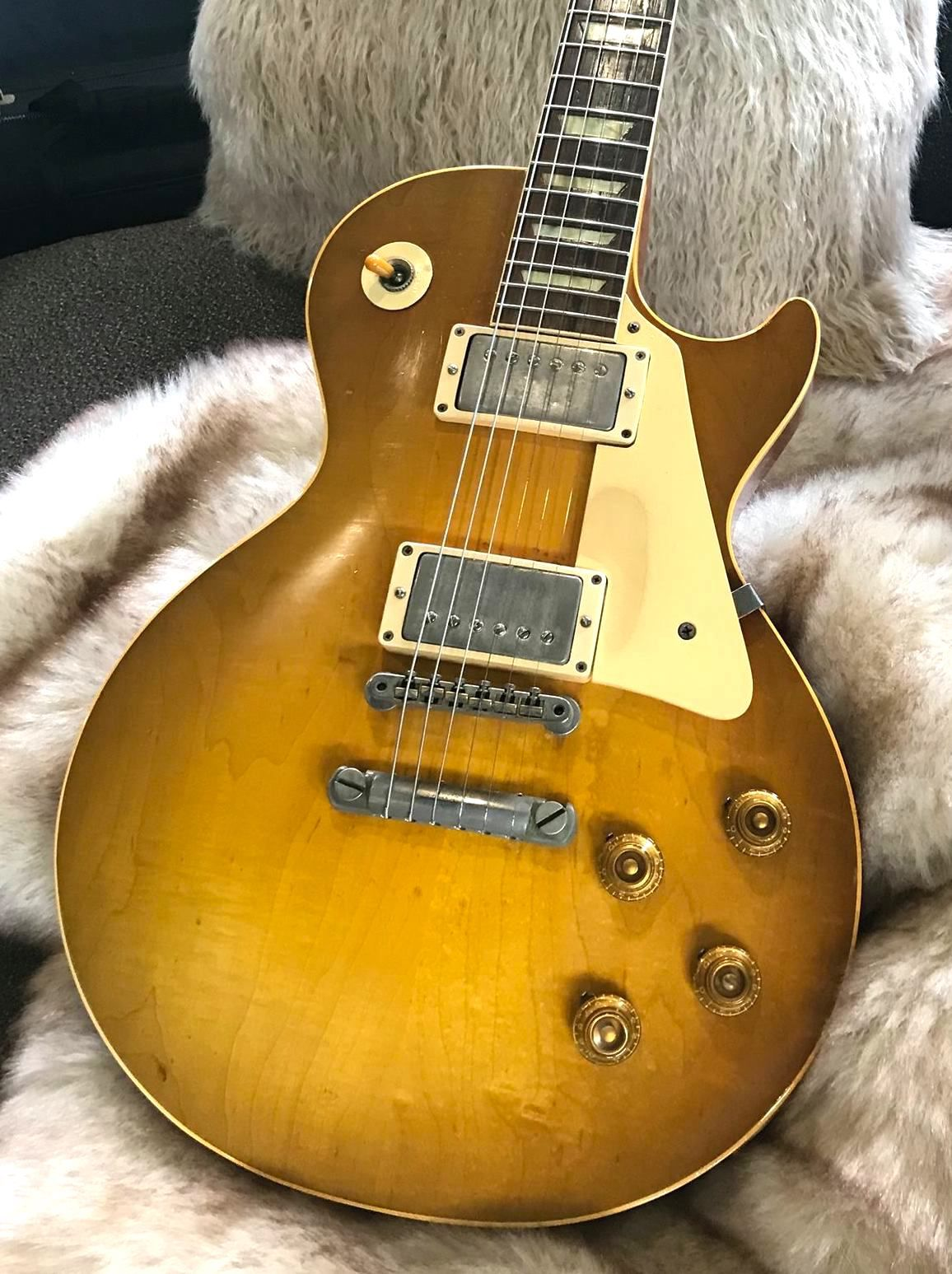 1958 Gibson Les Paul Standard With Images Les Paul Gibson