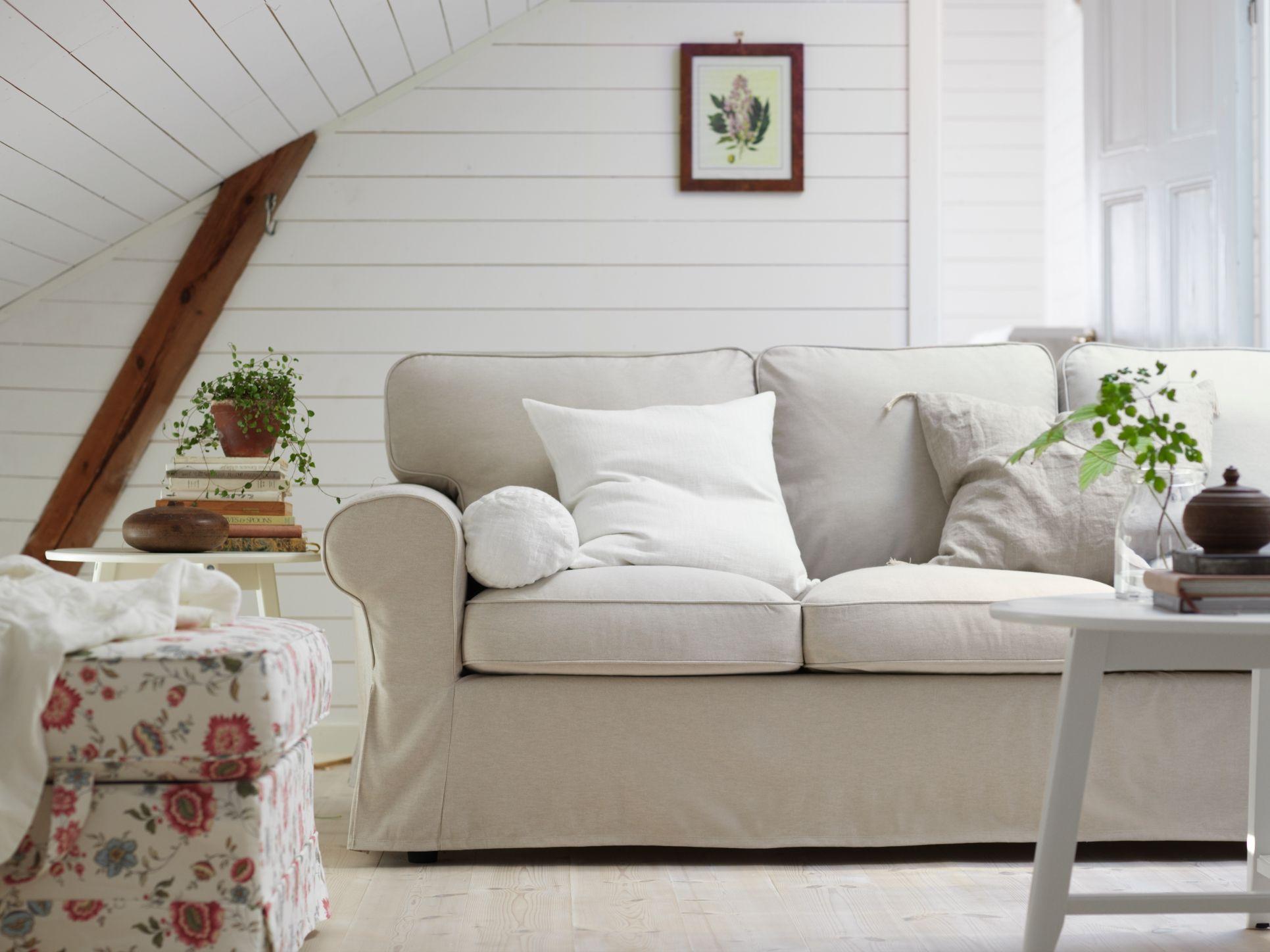 Lofallette Beige Einrichten Und Wohnen, Landhaus, Wohnzimmer, Ideen, Ikea  Stoff, Stoff