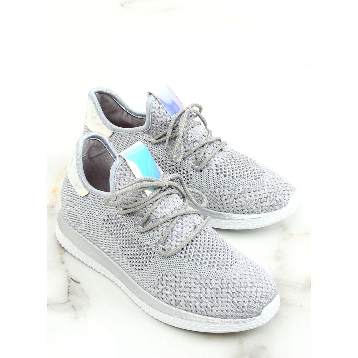 Buty Sportowe Benzynowe Szare B111 8 Grey Buty Buty Sportowe I Szary