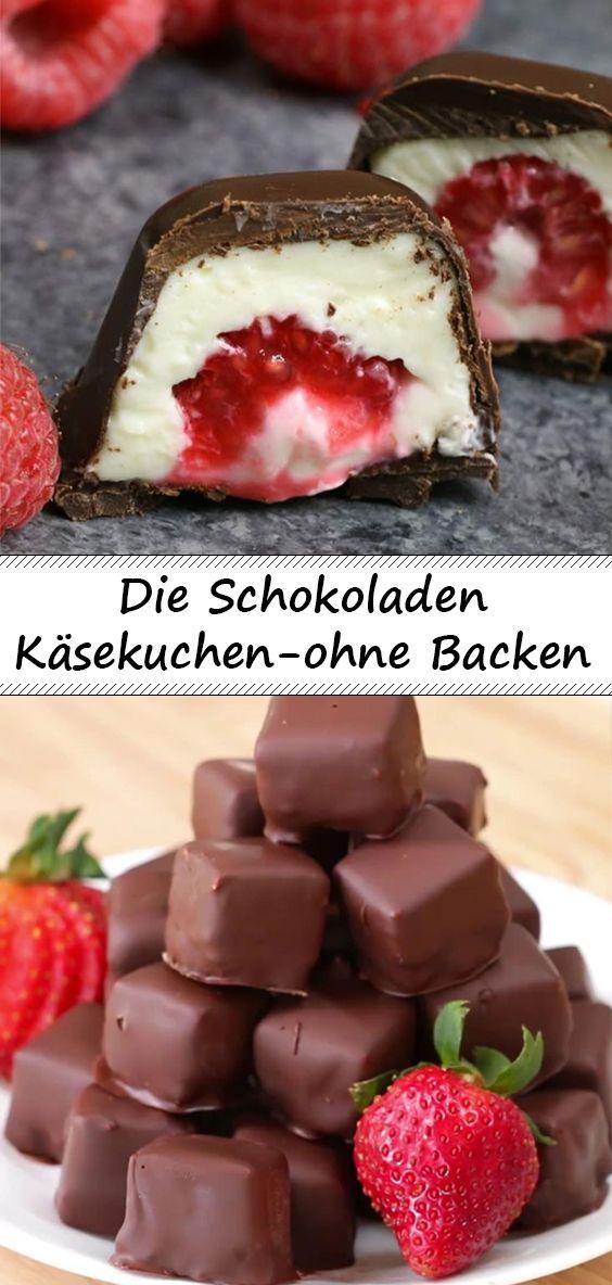 Die Schokoladen Käsekuchen ohne Backen  – Rezepte