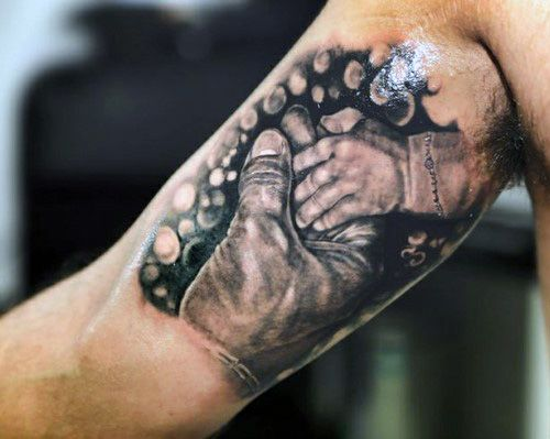 Top 50 Mind-Blowing Father Son Tattoos [2020 Inspiration Guide]